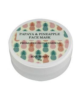 Papaya & Pineapple Face mask
