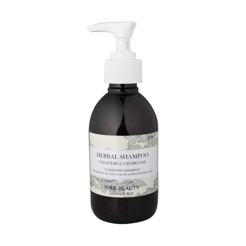 Herbal Shampoo - Cleavers & Charcoal