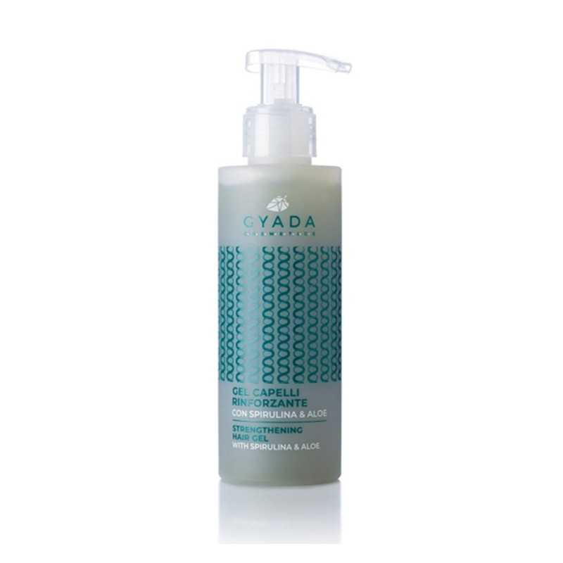 Strengthening Hair Gel With Spirulina & Aloe