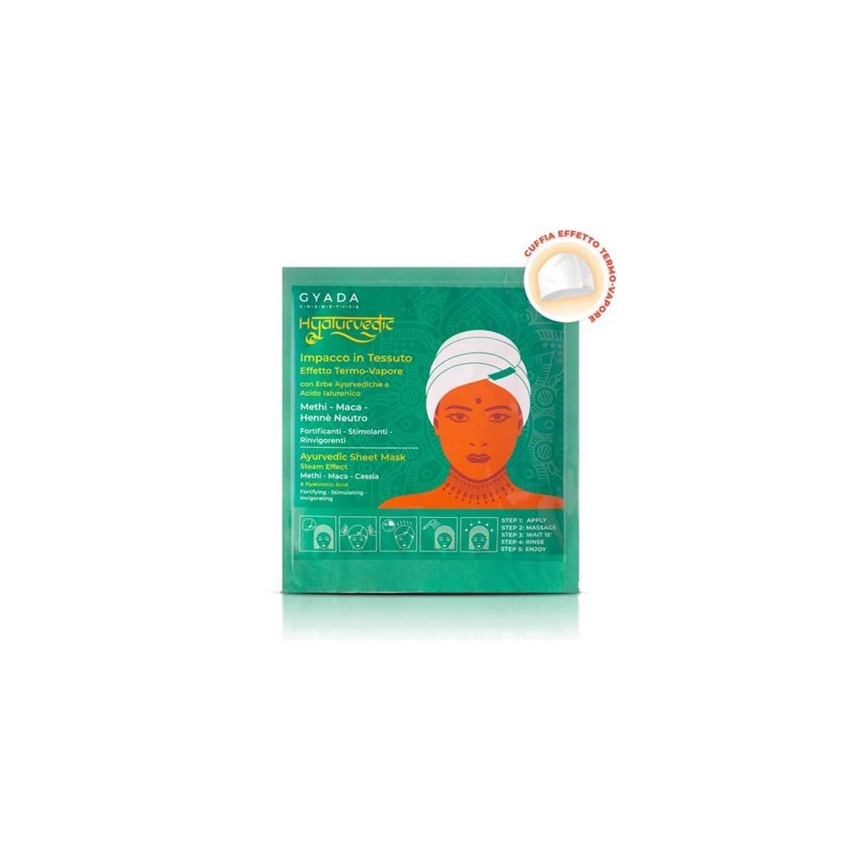 Hyalurvedic Fortifying Hair Sheet Mask