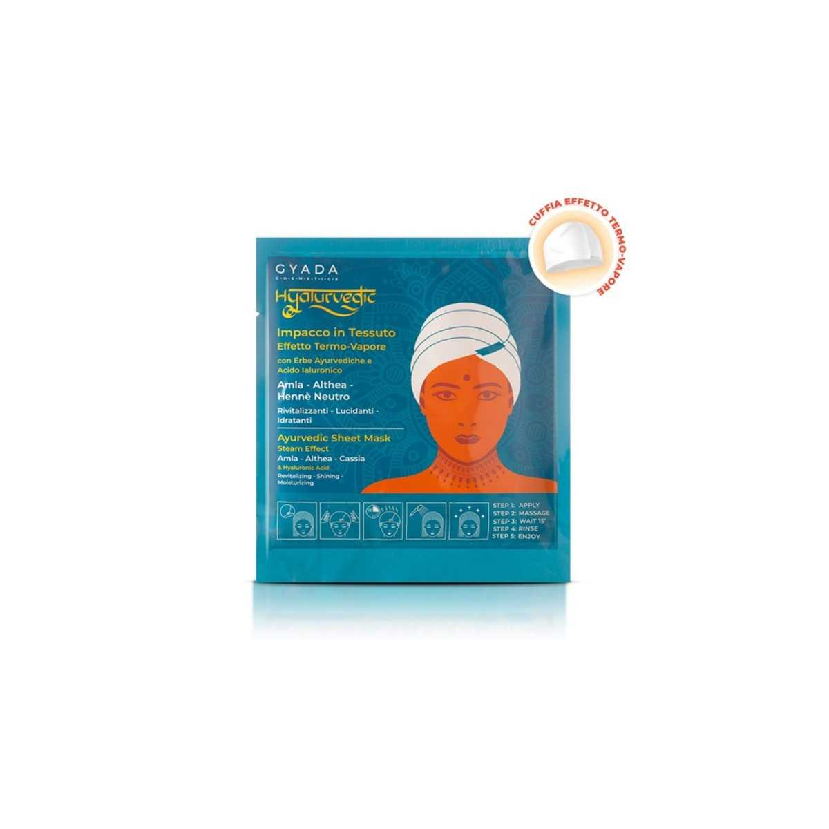 Hyalurvedic Revitalising Hair Sheet Mask