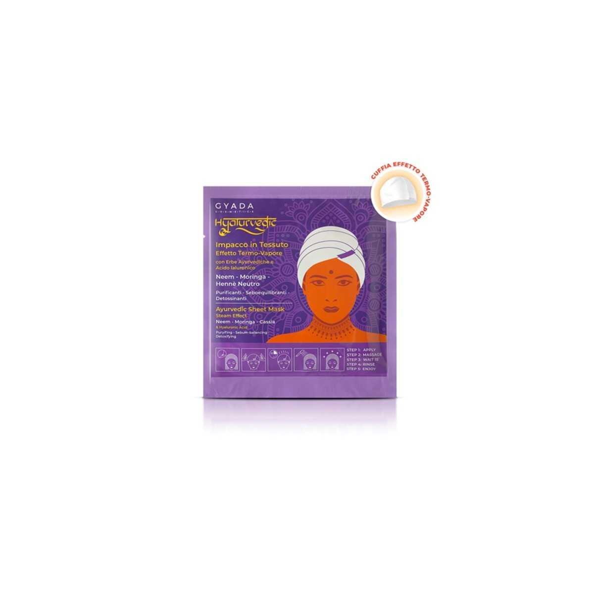 Hyalurvedic Purifying Hair Sheet Mask
