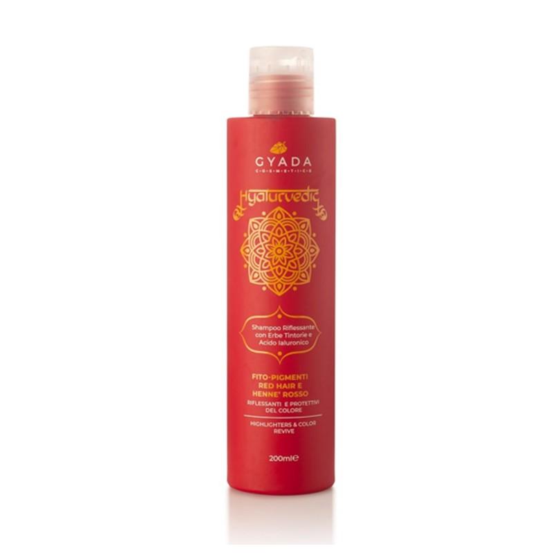 Hyalurvedic Red Hair Colour Shine Shampoo