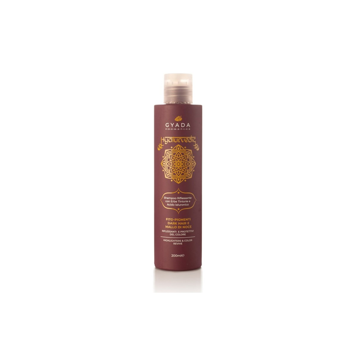 Hyalurvedic Dark Hair Colour Shine Shampoo