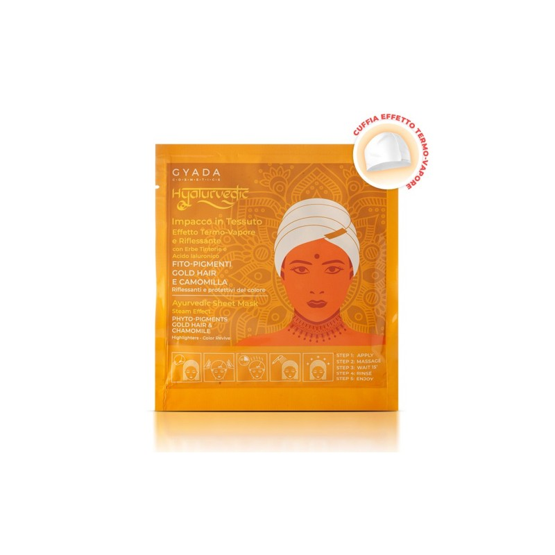 Hyalurvedic Gold Hair Colour Shine Mask