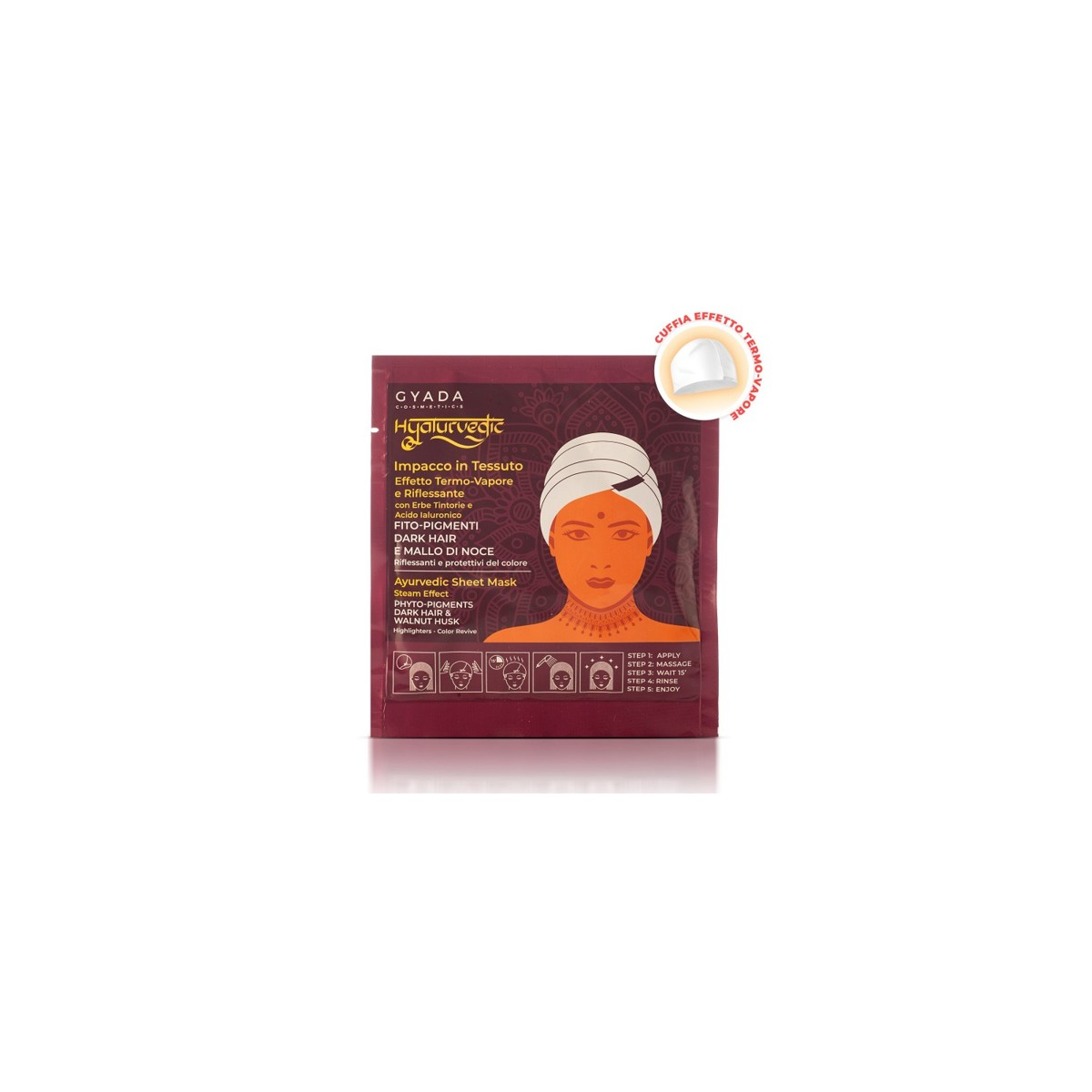 Hyalurvedic Dark Hair Colour Shine Mask