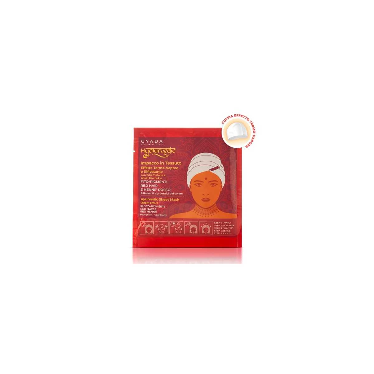 Hyalurvedic Red Hair Colour Shine Mask