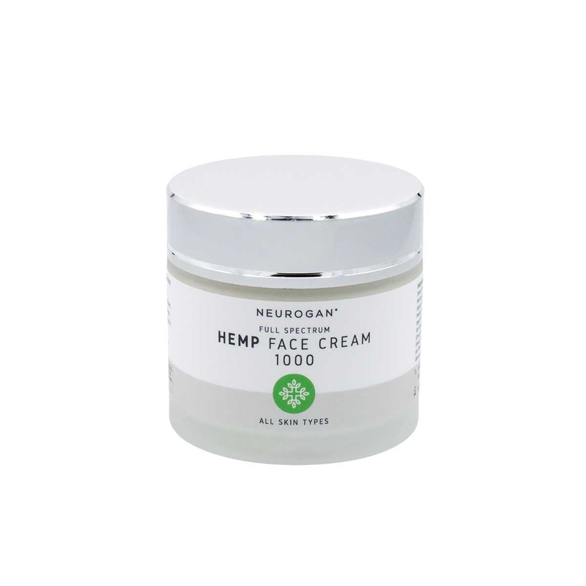 Neurogan Hemp Face Cream 1000mg 60ml