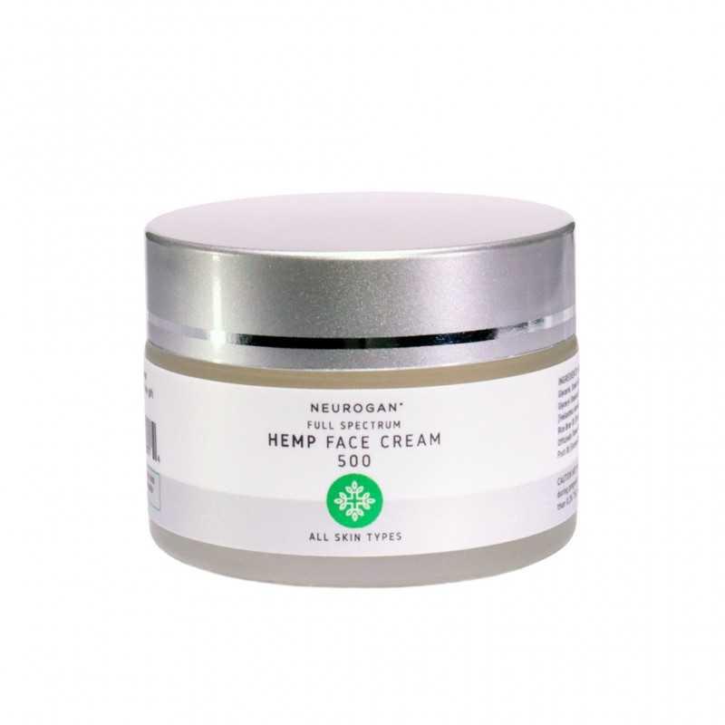 Neurogan Hemp Face Cream 500mg 30ml