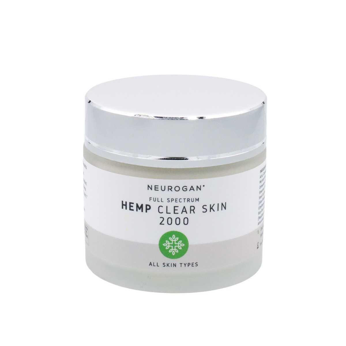 Neurogan Hemp Clear Skin Cream 2000mg