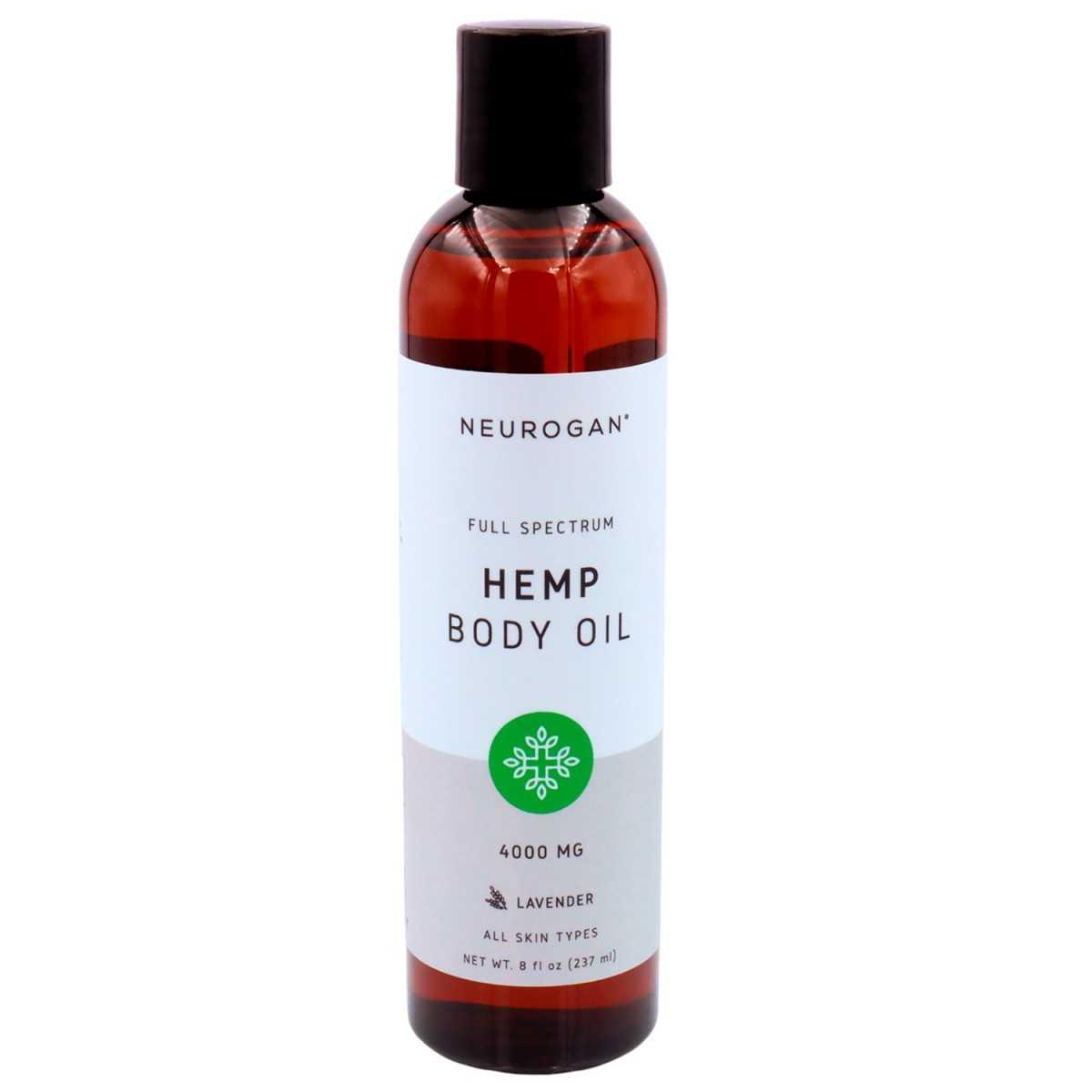Neurogan Hemp Body Oil 4000mg