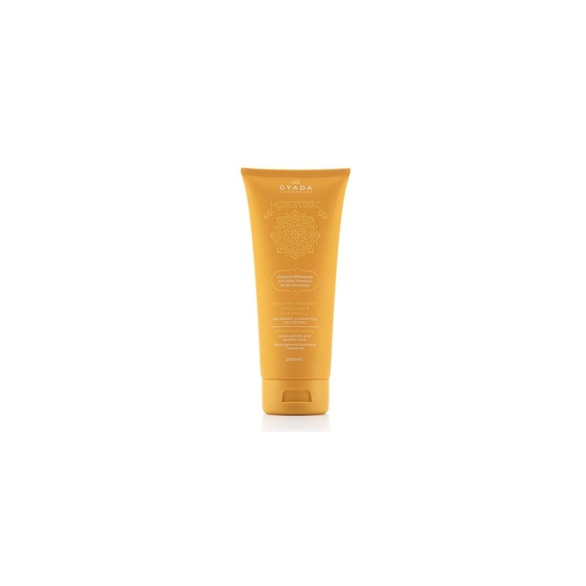 Hyalurvedic Gold Hair Colour Shine Hair Treatment